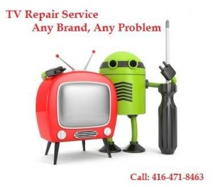 1 hour service at TV Repair Oakville Shop
